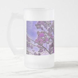 """Flor """"mágica"""" de Beautilflul, taza del vidrio"""