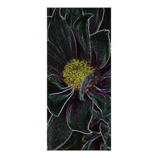 Flor mágica tarjeta publicitaria personalizada