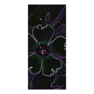 Flor mágica lonas publicitarias