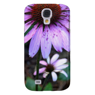 Flor manchada del Echinacea