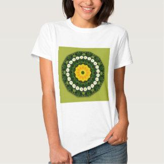 Flor-Mandala, margaritas Camisas