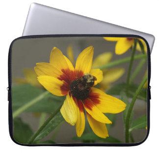 Flor, manga del ordenador portátil fundas ordendadores