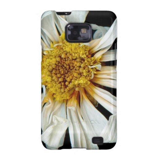 Flor - margarita - sol borracho galaxy s2 fundas