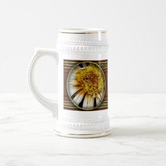 Flor - margarita - sol borracho taza de café