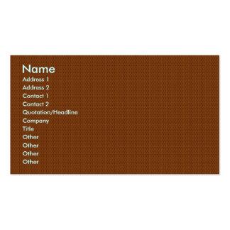 Flor marrón clara elegante con los pétalos ondulad tarjeta personal