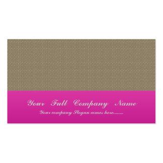 Flor marrón elegante con los pétalos ondulados en  plantilla de tarjeta de negocio