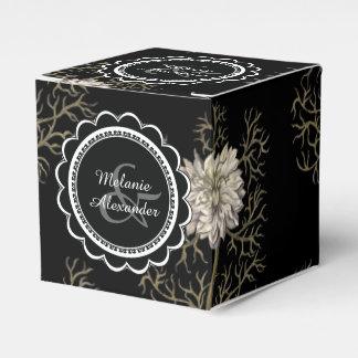 Flor medieval misteriosa caja para regalo de boda