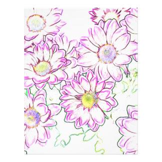 Flor Plantillas De Membrete