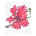 Flor Membrete A Diseño