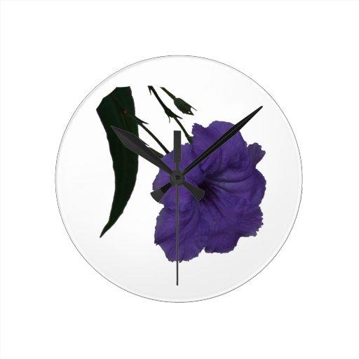 Flor mexicana del recorte de la petunia relojes