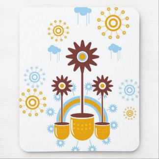 flor mouse pad
