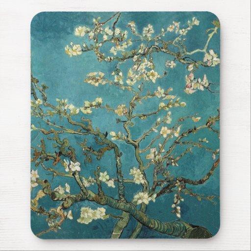 Flor Mousepad de la almendra