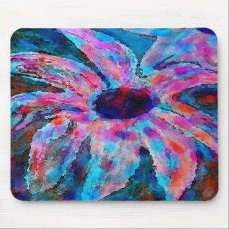 Flor Mousepad del caramelo de algodón Tapetes De Ratones