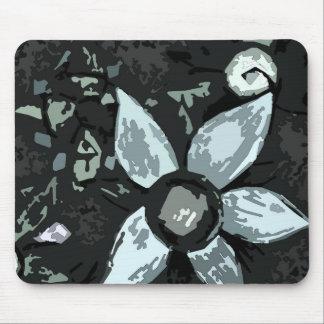 Flor negra de Sun Tapete De Ratón