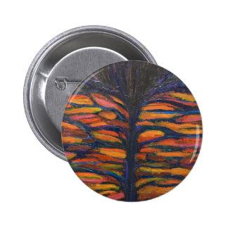 Flor negra (expresionismo simbólico) pin