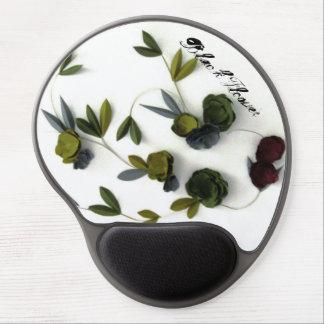 Flor negra por REMstudio Alfombrilla De Ratón Con Gel