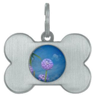 Flor Placa Mascota