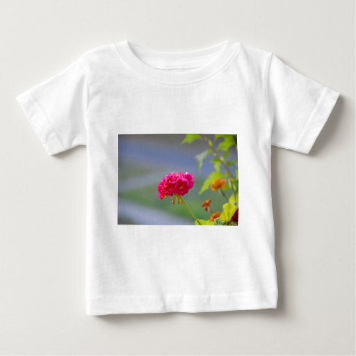 flor playera de bebé