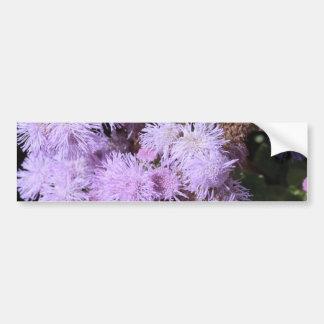 flor plumosa de la lila pegatina para auto