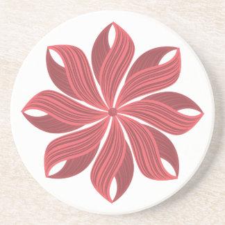 Flor Posavasos Personalizados