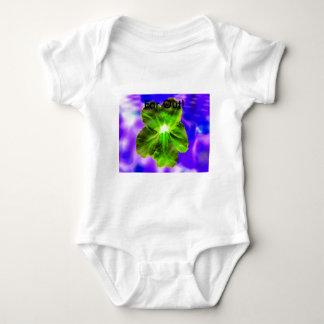 ¡Flor psicodélica - lejos hacia fuera! Body Para Bebé