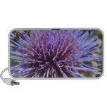 Flor púrpura altavoz de viajar