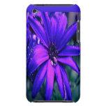 Flor púrpura barely there iPod cobertura
