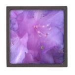 Flor púrpura caja de regalo de calidad