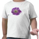 Flor púrpura camiseta