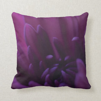 Flor púrpura almohada