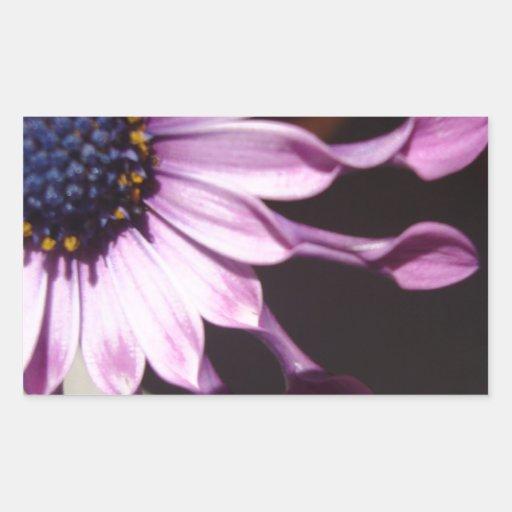 Flor púrpura de la cuchara rectangular altavoz