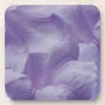 Flor púrpura de la luna posavasos