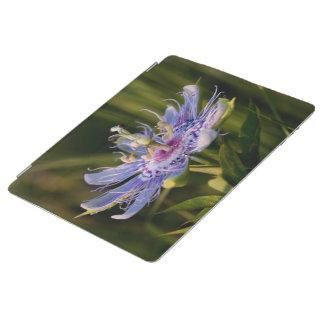 Flor púrpura de la pasión cubierta de iPad