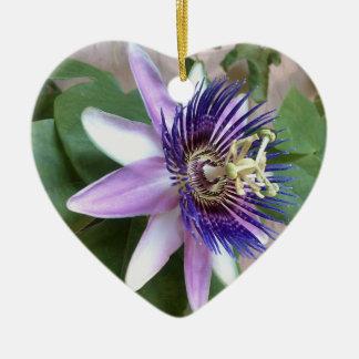 Flor púrpura de la pasión adornos