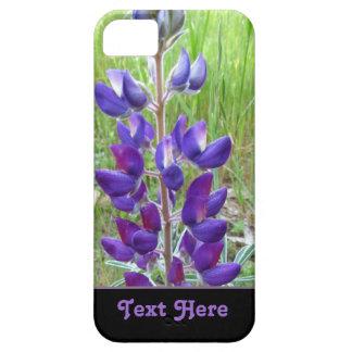 Flor púrpura del altramuz iPhone 5 Case-Mate carcasa