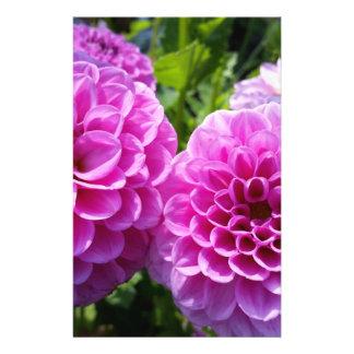 "Flor púrpura folleto 5.5"" x 8.5"""