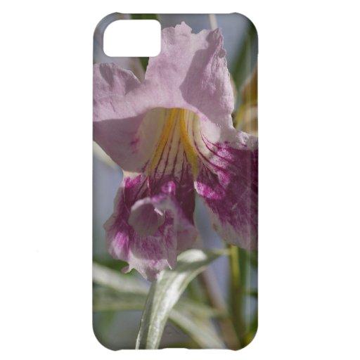 Flor púrpura funda iPhone 5C