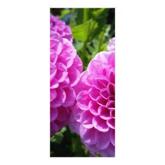 Flor púrpura invitacion personalizada