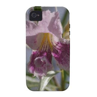 Flor púrpura iPhone 4/4S funda