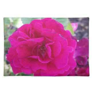 Flor púrpura mantel