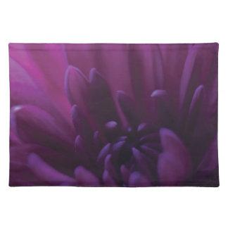 Flor púrpura manteles