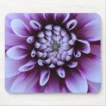 Flor púrpura Mousepad Tapetes De Ratones