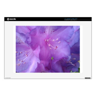 Flor púrpura portátil calcomanía