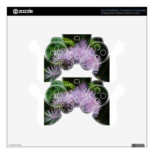 Flor púrpura skins para mando PS3