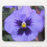 Flor púrpura tapete de ratones