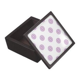 Flor radiante 6 de la orquídea caja de joyas de calidad
