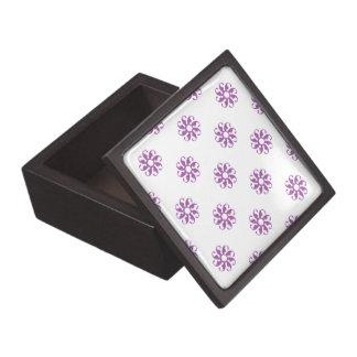 Flor radiante 7 de la orquídea caja de regalo de calidad