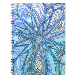 Flor reconstruida de Roberto S. Lee Libro De Apuntes Con Espiral