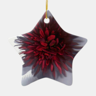 flor red.jpg adorno de cerámica en forma de estrella