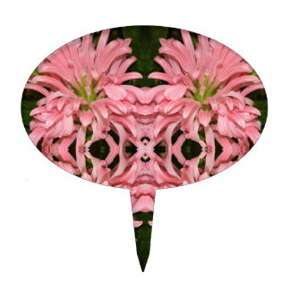 Flor reflexión enero de 2013 rosado figuras para tartas